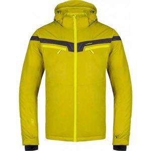 Loap FOSEK žltá S - Pánska zimná bunda vyobraziť