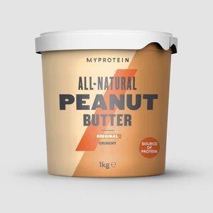 Prírodné Arašidové Maslo - 1kg - Originál - S Kúskami vyobraziť