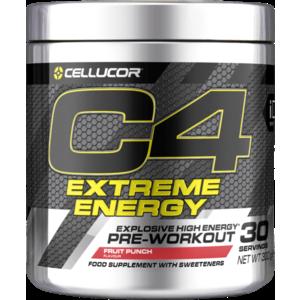 Cellucor Predtréningový stimulant C4 Extreme Energy 300 g ovocný punč vyobraziť