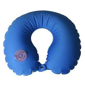 Nafukovací vankúšik AceCamp Air Pillow U Blue vyobraziť