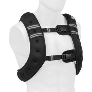 Capital Sports X-Vest, záťažová vesta, 8 kg, neoprén/nylon, 2 hrudné popruhy, čierna vyobraziť