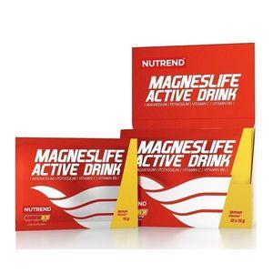 Magneslife Active Drink - Nutrend 10 x 15 g Lemon vyobraziť