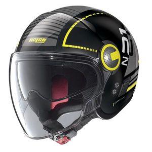 Moto prilba Nolan N21 Visor Runabout Metal Black-Yellow - M (57-58) - Záruka 5 rokov vyobraziť