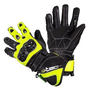 Motocyklové rukavice W-TEC Supreme EVO čierno-zelená - 3XL vyobraziť