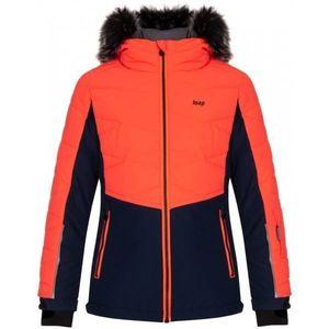 Loap OKUMA oranžová 146 - Detská lyžiarska bunda vyobraziť