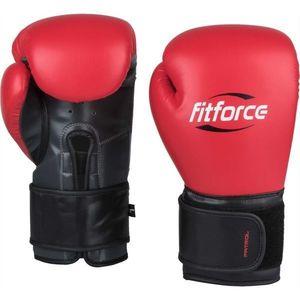 Fitforce PATROL červená 10 - Tréningové boxerské rukavice vyobraziť