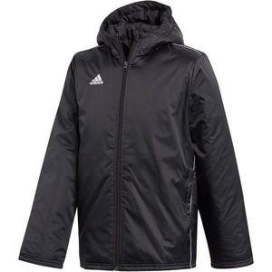 adidas CORE18 STD JKT čierna 140 - Chlapčenská športová bunda vyobraziť