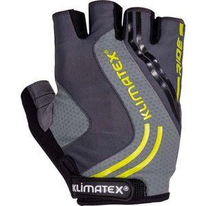 Klimatex RAMI tmavo sivá M - Pánske cyklistické rukavice vyobraziť
