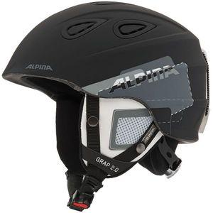 Alpina Sports GRAP 2.0 čierna (61 - 64) - Lyžiarska prilba vyobraziť