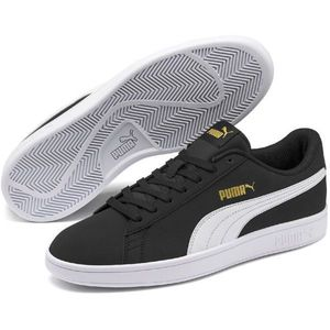 Puma SMASH V2 BUCK čierna 10.5 - Pánska voľnočasová obuv vyobraziť