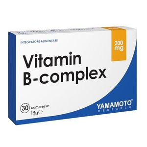 Vitamin B-Complex - Yamamoto 30 tbl. vyobraziť