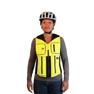 Airbagová vesta pre cyklistov Helite B'Safe čierna - XL vyobraziť