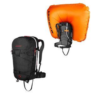 Lavínový batoh Mammut Ride Removable Airbag 3.0 30l Black vyobraziť