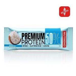 Proteínová tyčinka Nutrend Premium Protein 50% Bar 50g kokos vyobraziť