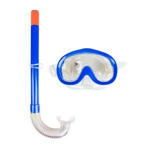 Sada na potápanie Escubia Nemo Set JR modrá vyobraziť
