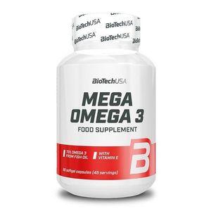 Mega Omega 3 - Biotech USA 180 kaps. vyobraziť