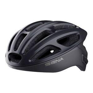 Cyklo prilba SENA R1 s integrovaným headsetom oranžová - L (59-62) vyobraziť