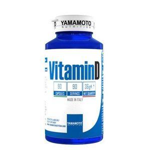 Vitamin D 25 mcg - Yamamoto 90 kaps. vyobraziť