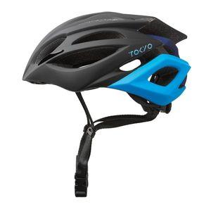 Cyklo prilba Kross Vincitore Tokyo čierna/modrá - L (58-61) vyobraziť
