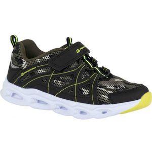 ALPINE PRO BERTO zelená 28 - Detská športová obuv vyobraziť
