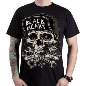 Tričko BLACK HEART Garage Built čierna - 3XL vyobraziť