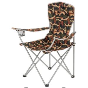 Skladacia stoličky s opierkami HIGHLANDER Moray maskáč vyobraziť