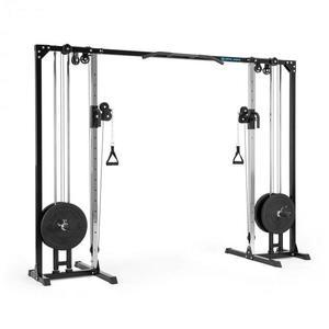 Capital Sports Cable Power, posilňovací kladkový stojan, oceľ, 30/50 mm, čierny vyobraziť