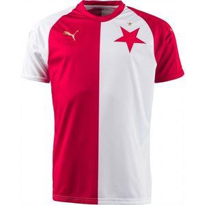 Puma SK SLAVIA HOME JSY KIDS biela 116 - Originálny futbalový dres vyobraziť