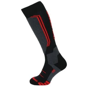 Blizzard ALLROUND WOOL SKI SOCKS červená 39 - 42 - Lyžiarske ponožky vyobraziť