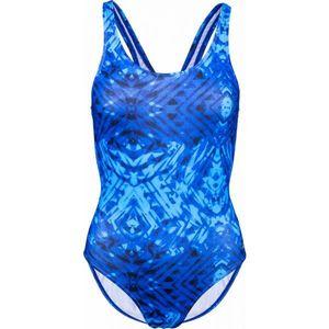 Lotto DESIRE modrá 152-158 - Dievčenské jednodielne plavky vyobraziť