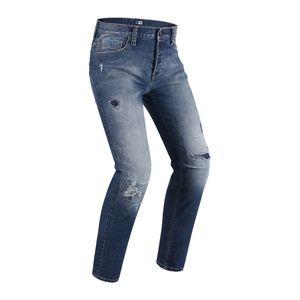Pánske moto jeansy PMJ Street modrá - 44 vyobraziť