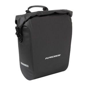 Zadná nosičová taška Kross Aqua Stop Rear Pannier Bag Handle vyobraziť