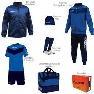 BOX SPORT azúrová-modrá - S vyobraziť