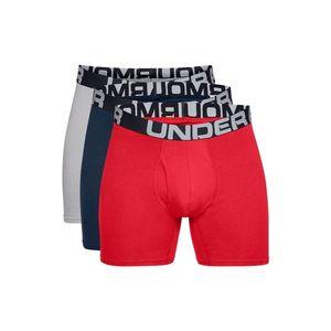 Pánské boxerky Under Armour Charged Cotton 6in 3 páry Mod Gray Medium Heather - L vyobraziť