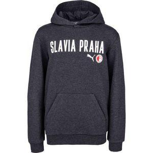 Puma SLAVIA PRAGUE GRAPHIC HOODY S - Pánska mikina vyobraziť