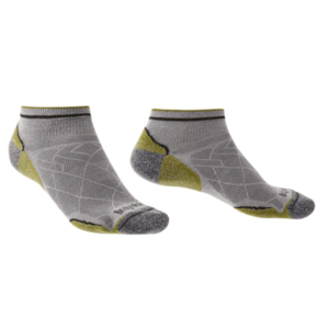 Ponožky Bridgedale Hike Ultralight T2 Coolmax Performance Low grey/green/068 12, 5-14, 5 vyobraziť