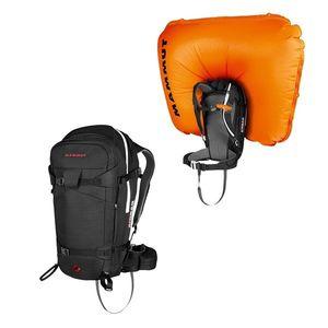 Lavínový batoh Mammut Pro Removable Airbag 3.0 45l Black vyobraziť
