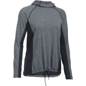 Dámske tričko Under Armour Threadborne Train Hood Twist BLACK / BLACK / GRAPHITE - L vyobraziť