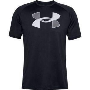 Pánske tričko Under Armour Big Logo Tech SS Black - XXL vyobraziť