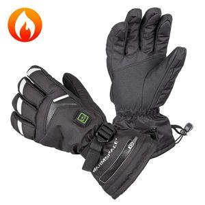Univerzálne vyhrievané rukavice W-TEC Keprnik šedá - XL vyobraziť