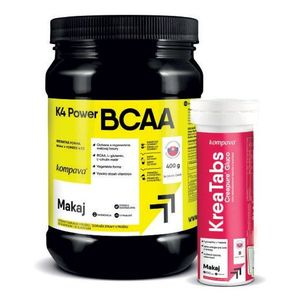 K4 Power BCAA 4: 1: 1 - Kompava 400 g Grep+Limetka vyobraziť