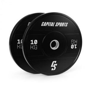 Capital Sports Elongate 2020, kotúče, 2 x 10 kg, tvrdá guma, 50, 4 mm vyobraziť
