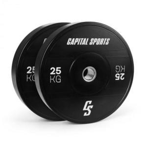 Capital Sports Elongate 2020, kotúče, 2 x 25 kg, tvrdá guma, 50, 4 mm vyobraziť
