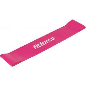 Fitforce EXEBAND LOOP EXTRA SOFT ružová ns - Posilňovacia guma vyobraziť