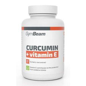 Curcumin + Vitamin E - GymBeam 90 tbl. vyobraziť