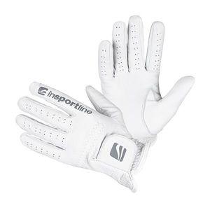 Dámske kožené rukavice inSPORTline Elmgreen Lady krémovo biela - L vyobraziť