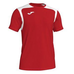T-SHIRT CHAMPIONSHIP V RED-WHITE S/S červená-biela S vyobraziť