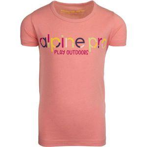 ALPINE PRO RAJESHO 116-122 - Dievčenské tričko vyobraziť