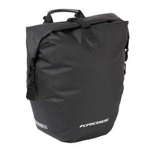 Zadná nosičová taška Kross Aqua Stop Rear Pannier Bag 25, 4l vyobraziť
