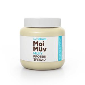 GymBeam Proteínová nátierka MoiMüv 400 g milky vyobraziť